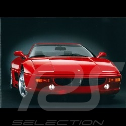Ferrari Brochure F355 Spider 1995 in Italian English 5M/5/95