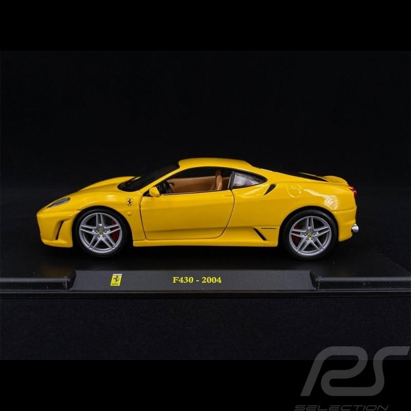 Ferrari F430 2004 Yellow 1/24 Bburago