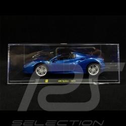 Ferrari 488 Spider 2015 Blue 1/24 Bburago
