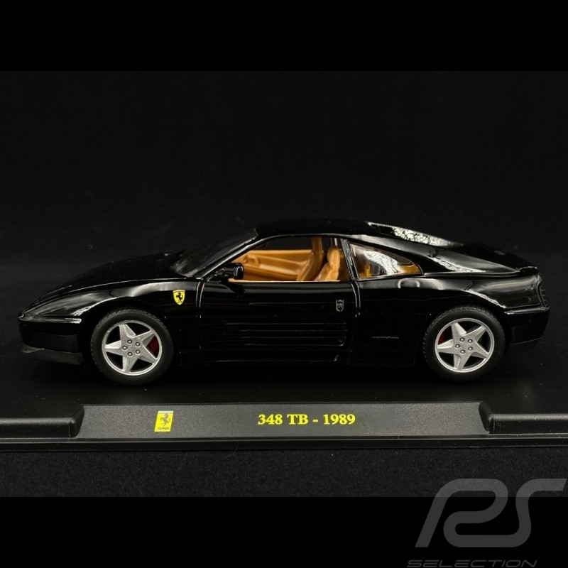 Ferrari 348 TB 1989 Black 1/24 Bburago