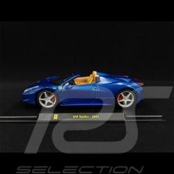 Ferrari 458 Spider 2011 Bleu blue blau 1/24 Bburago
