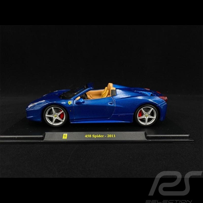 Ferrari 458 Spider 2011 Blue 1/24 Bburago