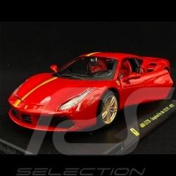 Ferrari 488 GTB inspired by 312 P1 1972 Red 1/24 Bburago