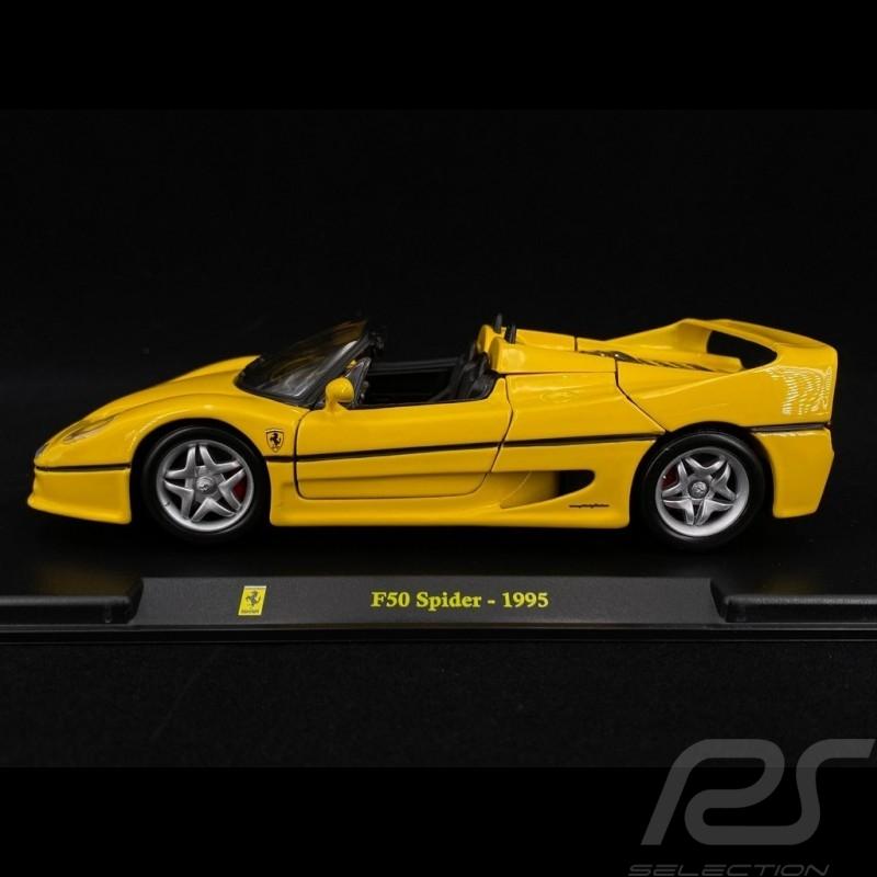 Ferrari F50 Spider Yellow 1995 1/24 Bburago