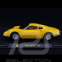 Ferrari Dino 246 GT 1969 Jaune yellow gelb 1/24 Bburago