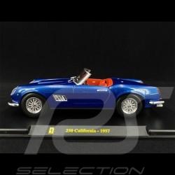 Ferrari 250 California 1957 Bleu blue blau 1/24 Bburago