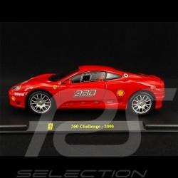 Ferrari 360 Challenge 2000 Rouge red rot 1/24 Bburago
