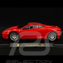 Ferrari Challenge Stradale 2003 Rouge red rot 1/24 Bburago