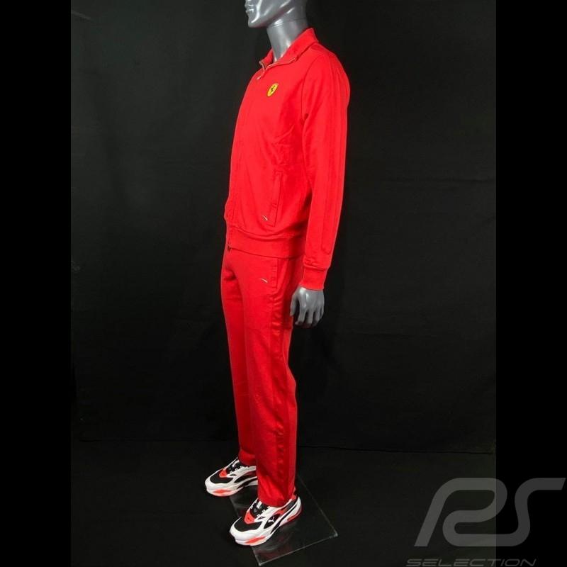 Ferrari Tracksuit Rosso Corsa Softshell Running suit Red - Men