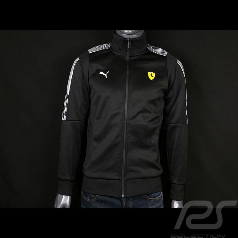 Ferrari Jacket T7 Track by Puma Softshell Tracksuit Black - Men