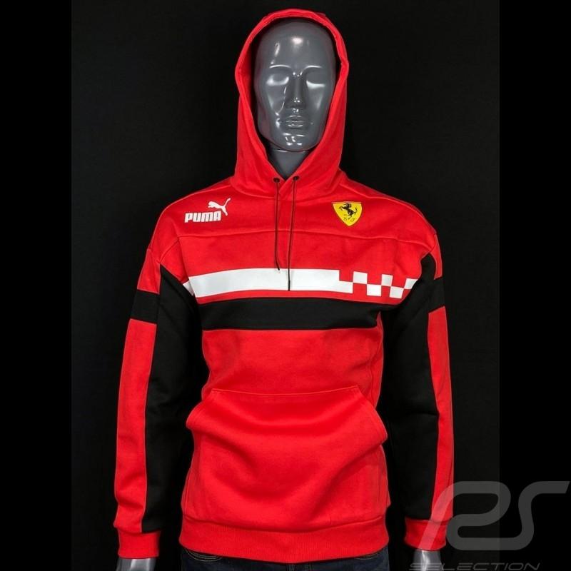 Ferrari Hoodie Jacket Rosso Corsa Race SDS by Puma Softshell Red - men