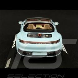 Porsche 911 / 992 Targa 4S n° 50 Meissen Blue Heritage Edition 1/43 Minichamps WAP0209110NTRG