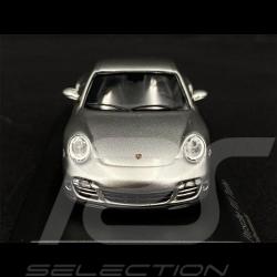 Porsche 911 Turbo Type 997 2006 Silver GT Metallic 1/43 Minichamps 943065203