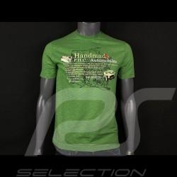 Ferrari T-shirt 340 Mexico Green Ferrari Handmade Automobiles Collection - men