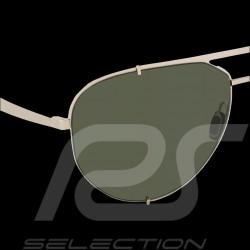 Porsche sunglasses gold frame / olive mirrored lenses Porsche WAP0789200MD63  - unisex