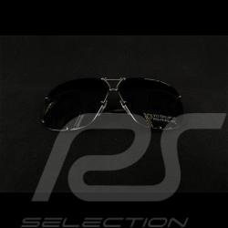 Lunettes de soleil sunglasses sonnenbrille Porsche monture grise / verres mirroirs olive Porsche WAP0789280MA65 - mixte