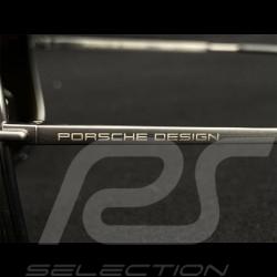 Porsche sunglasses grey frame / olive mirrored lenses Porsche WAP0789280MA65  - unisex