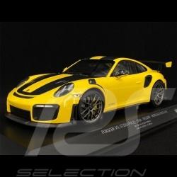 Porsche 911 GT2 RS Type 991 Weissach Package Racing Yellow 1/18 Minichamps 153068306