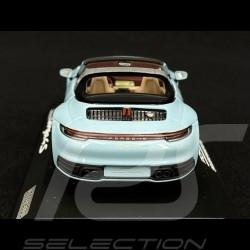 Copy n° 2 / 2000 Porsche 911 / 992 Targa 4S n° 50 Meissen Blue Heritage Edition 1/43 Minichamps WAP0209110NTRG
