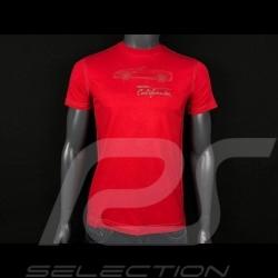 T-shirt Ferrari California Rouge Collection Ferrari Handmade Automobiles - enfant