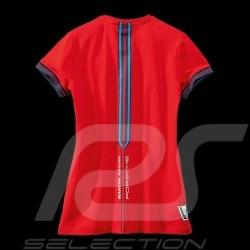 Porsche T-shirt Martini Collection 911 Carrera RSR n° 8 Red WAP556D - women