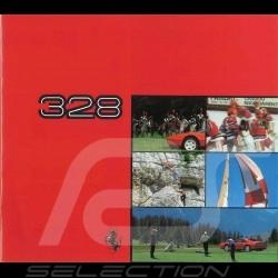 Brochure Ferrari 328 de 1985 à 1989 incomplète - couverture manquante