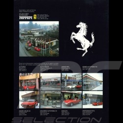 Ferrari Brochure 1985 Range in English French German