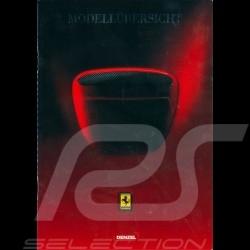 Ferrari Broschüre 1999 Bereich in Deutsch