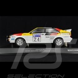 Audi Quattro Sport n° 24 Rallye RAC Lombard 1982 1/18 Minichamps 155821124