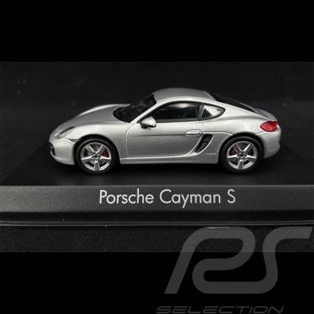 Porsche Cayman S 981 2013 gris grey grau 1/43 Norev 750036