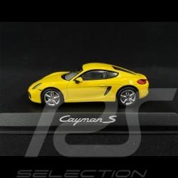 Porsche Cayman S 981 2013 jaune yellow gelb 1/43 Norev WAP0200310D