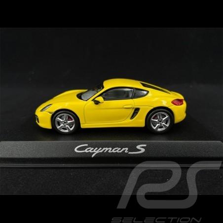 Porsche Cayman S 981 2013 yellow 1/43 Norev WAP0200310D