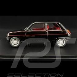 Renault 5 Alpine 1982 Noir black schwarz 1/24 WhiteBox WB124057