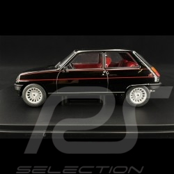 Renault 5 Alpine 1982 Schwarz 1/24 WhiteBox WB124057