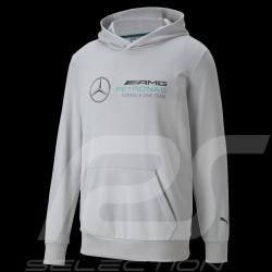 Mercedes-AMG Hoodie Sweatshirt Petronas F1 Team Grau 532347-02 - Herren