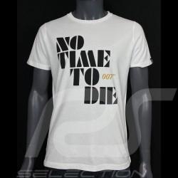 007 T-Shirt No Time To Die 2021 Weiß - Herren