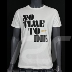 T-shirt 007 No Time To Die 2021 Blanc - homme