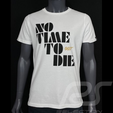 007 T-shirt No Time To Die 2021 White - Men