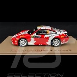 Porsche 911 Carrera RGT Type 997 n° 57 Rallye de Monte Carlo 2019 1/43 Spark S5989