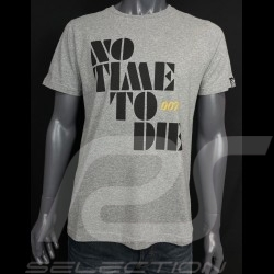 T-shirt 007 No Time To Die 2021 Gris chiné - homme