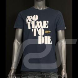 007 T-Shirt No Time To Die 2021 Marineblau - Herren