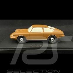 Porsche 695 Prototype en argile clay ton 1/43 Autocult ATC06045