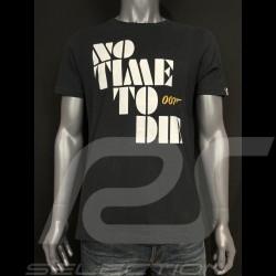 007 T-Shirt No Time To Die 2021 Schwarz - Herren