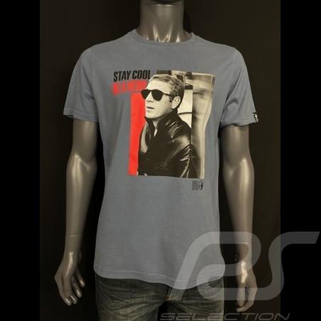 Steve Mcqueen T-shirt  sturmgrau Hero Seven - Herren