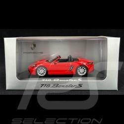 Porsche 718 Boxster S type 982 2016 Indischrot 1/43 Minichamps WAP0202030G
