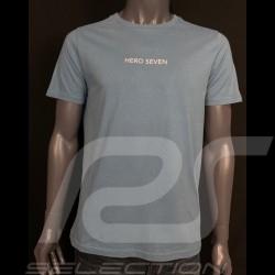 Mustang T-shirt Blau Petrol Hero Seven - Herren