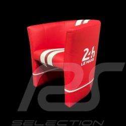 Kleiner Tubstuhl Racing Inside für Kinder 24H Le Mans Rot / weiß