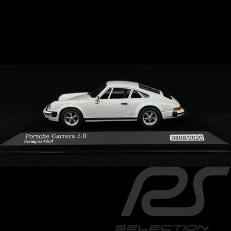 Porsche Carrera 3.0 Grandprix White 1976 1/43 Minichamps 943062097