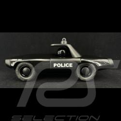 Vintage diecast Police Black Playforever PLMAVM104
