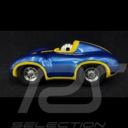 Vintage Racing Car n°1 Speedy Le Mans blau - gelb Playforever PLMIN712